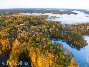 Fall at Rocky Run Reservoir